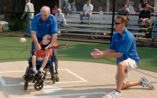 Miracle Field home plate