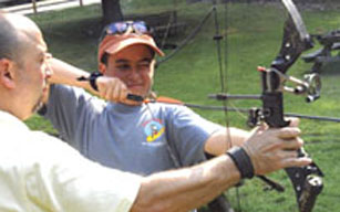 Learn archery at the Blue Mountain Sportsman Center